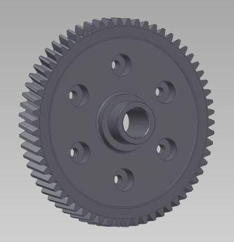 CAD-Konstruktion Tellerrad
