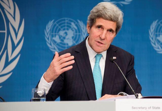 Anúncio foi feito pelo enviado especial dos EUA para questões climáticas, John Kerry | Foto: Eric Bridiers / U.S. Mission