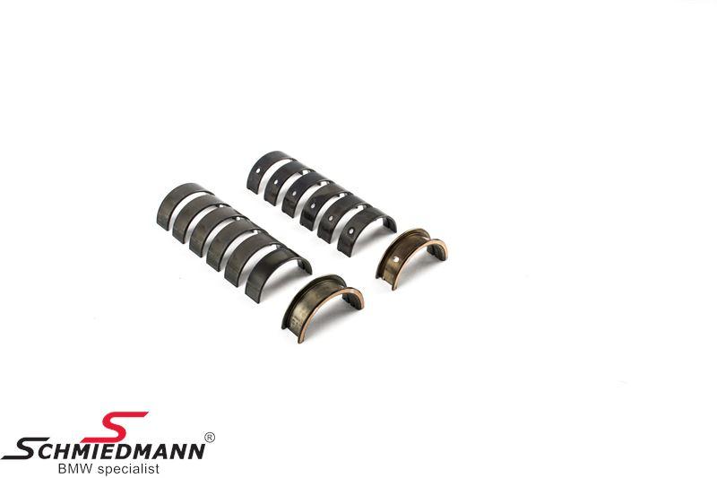 ACL Race Series crankshaft main bearing set, with 0.025mm