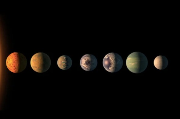 our solar system is