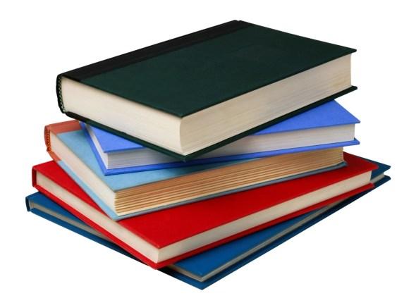unread books at home