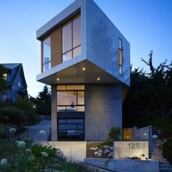 Outside Kitchen Designs Appliances Package Deals Pb Elemental Fits Otherworldly House On Odd Seattle Lot ...