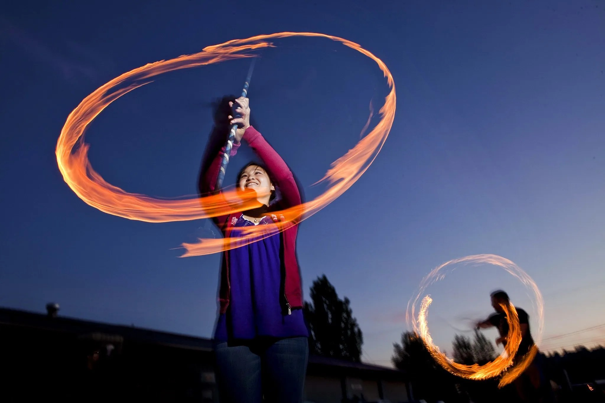 introductory fire dancing classes