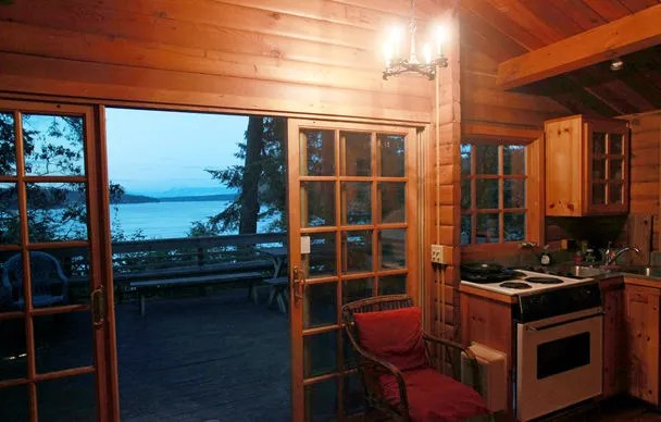 Rent An Island For A Night With Cabin At Deception Pass