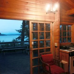 Kitchen For Rent 3 Basin Sink An Island A Night (with Cabin) At Deception Pass ...