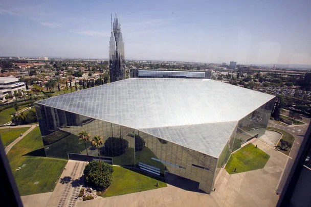 crystal cathedral undergoes conversion