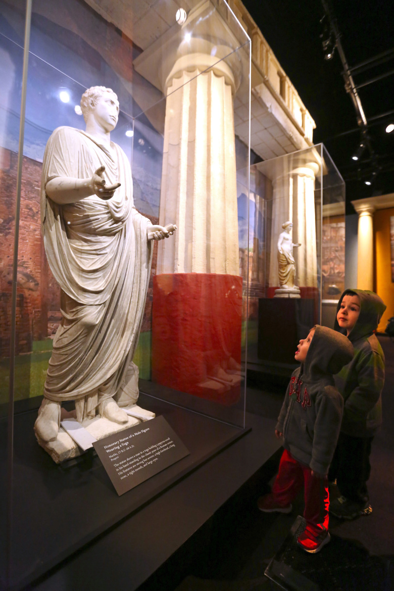 Pompeii The Exhibition unearths buried world of wonders  The Seattle Times