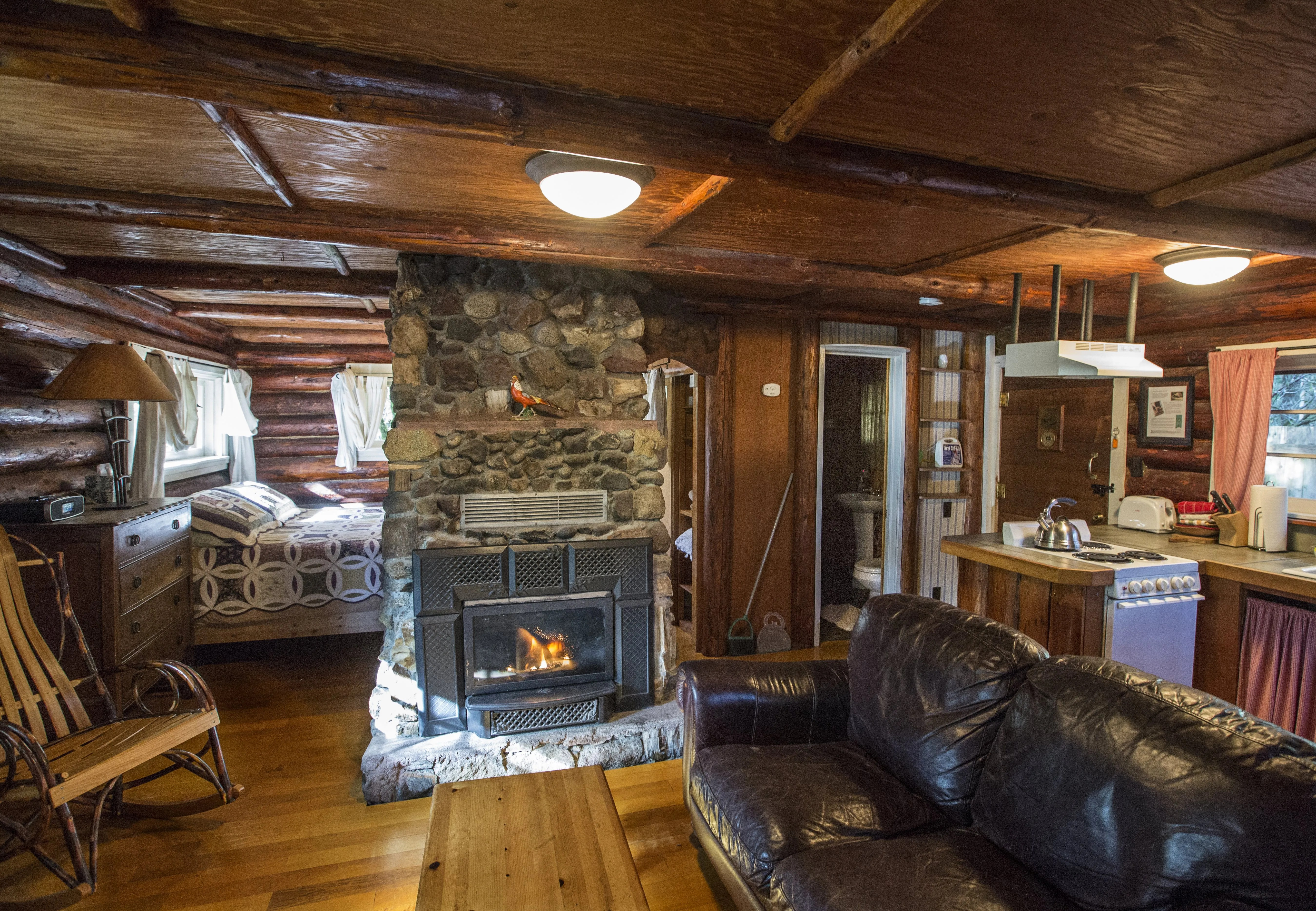 Get cozy at vacation cabins near Mount Rainier  The