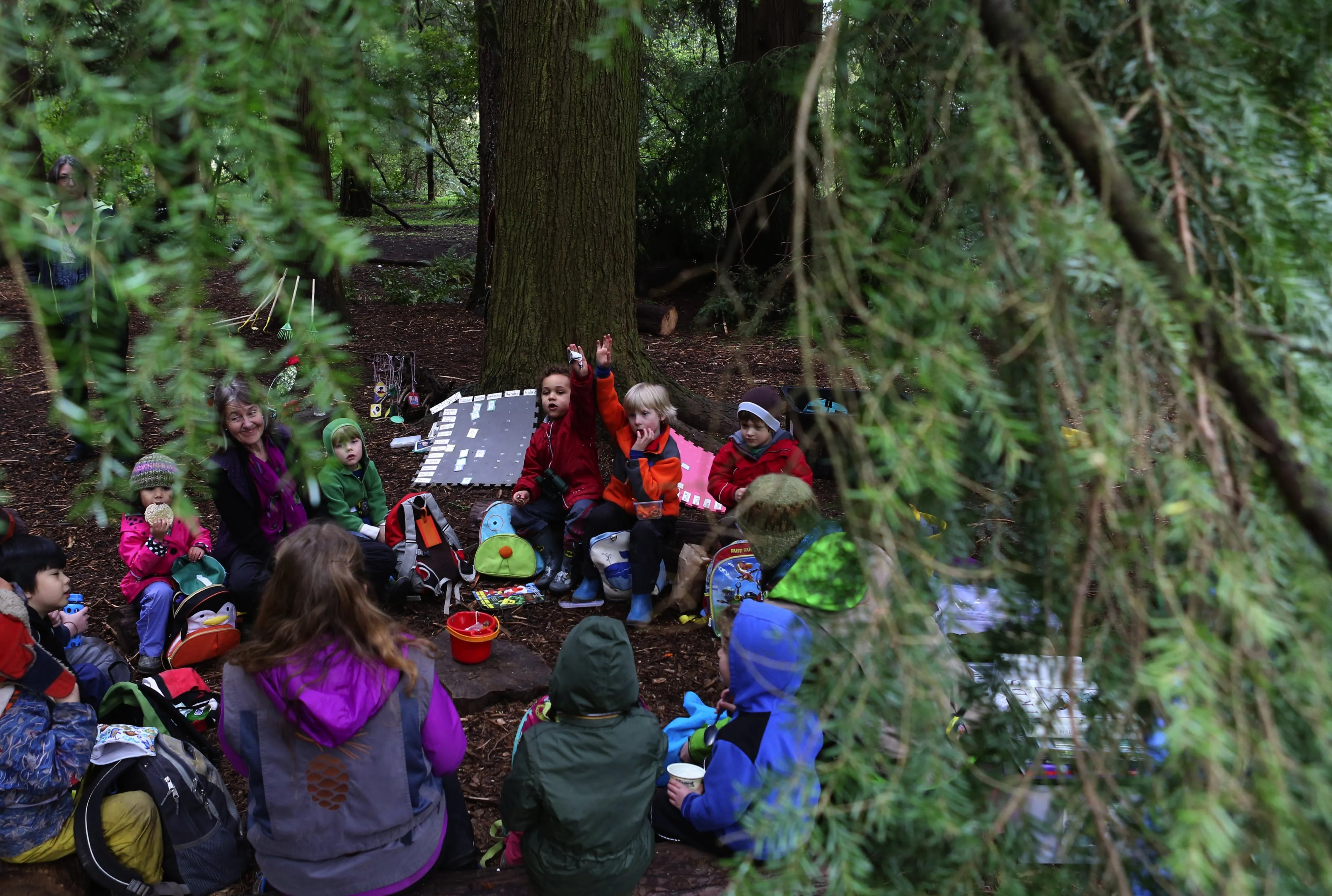 Kids Go Outside And Learn At The Arboretum S Outdoor