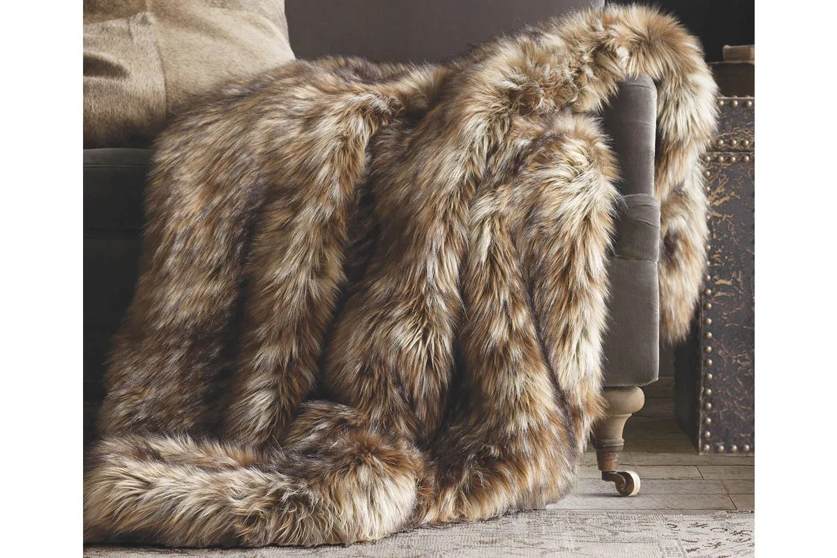 brown slipper chair best desk for back pain snuggle up winter: faux fur gets more realistic   the seattle times
