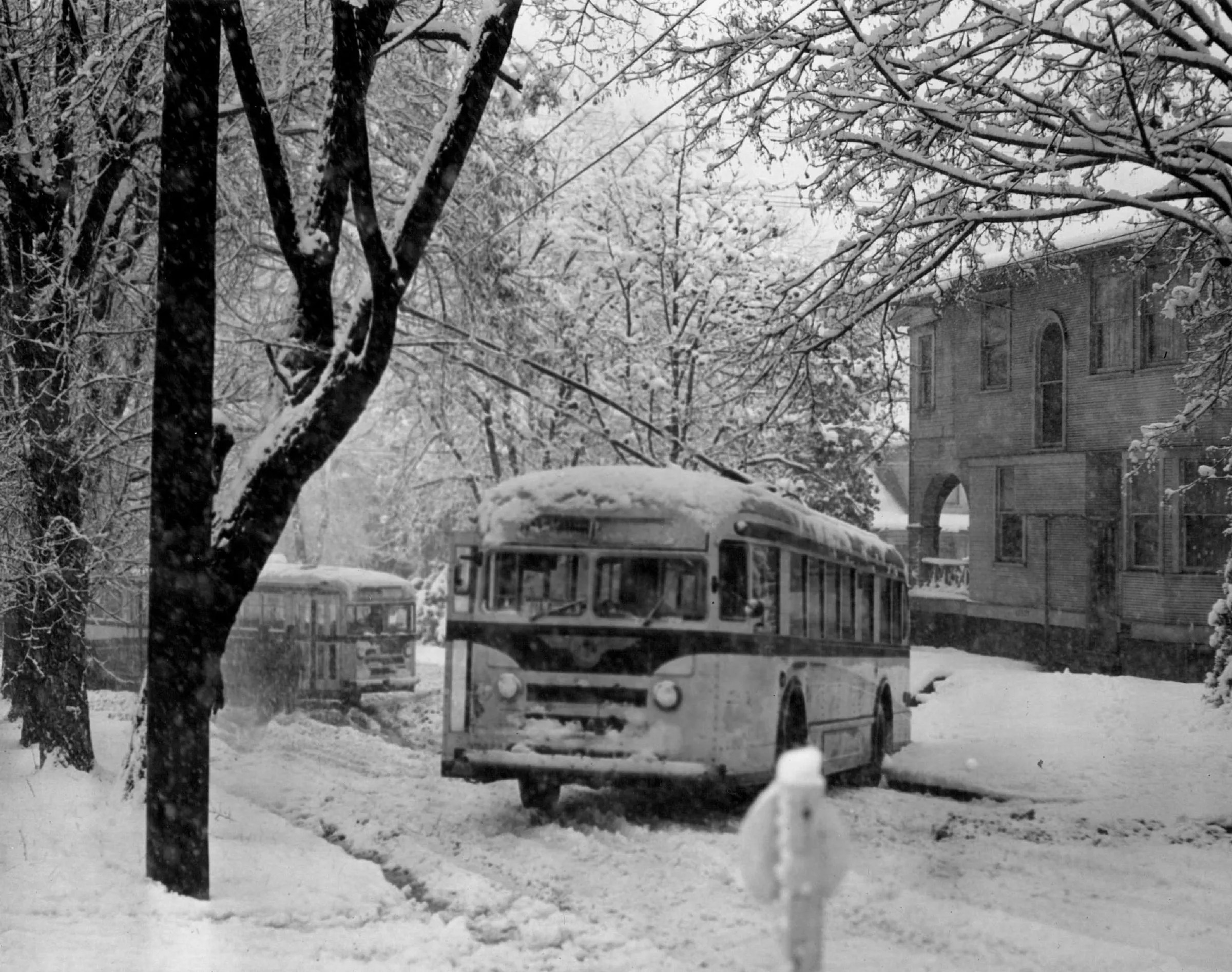 Snowblast from the past Historic Seattle storms in photos and video  The Seattle Times
