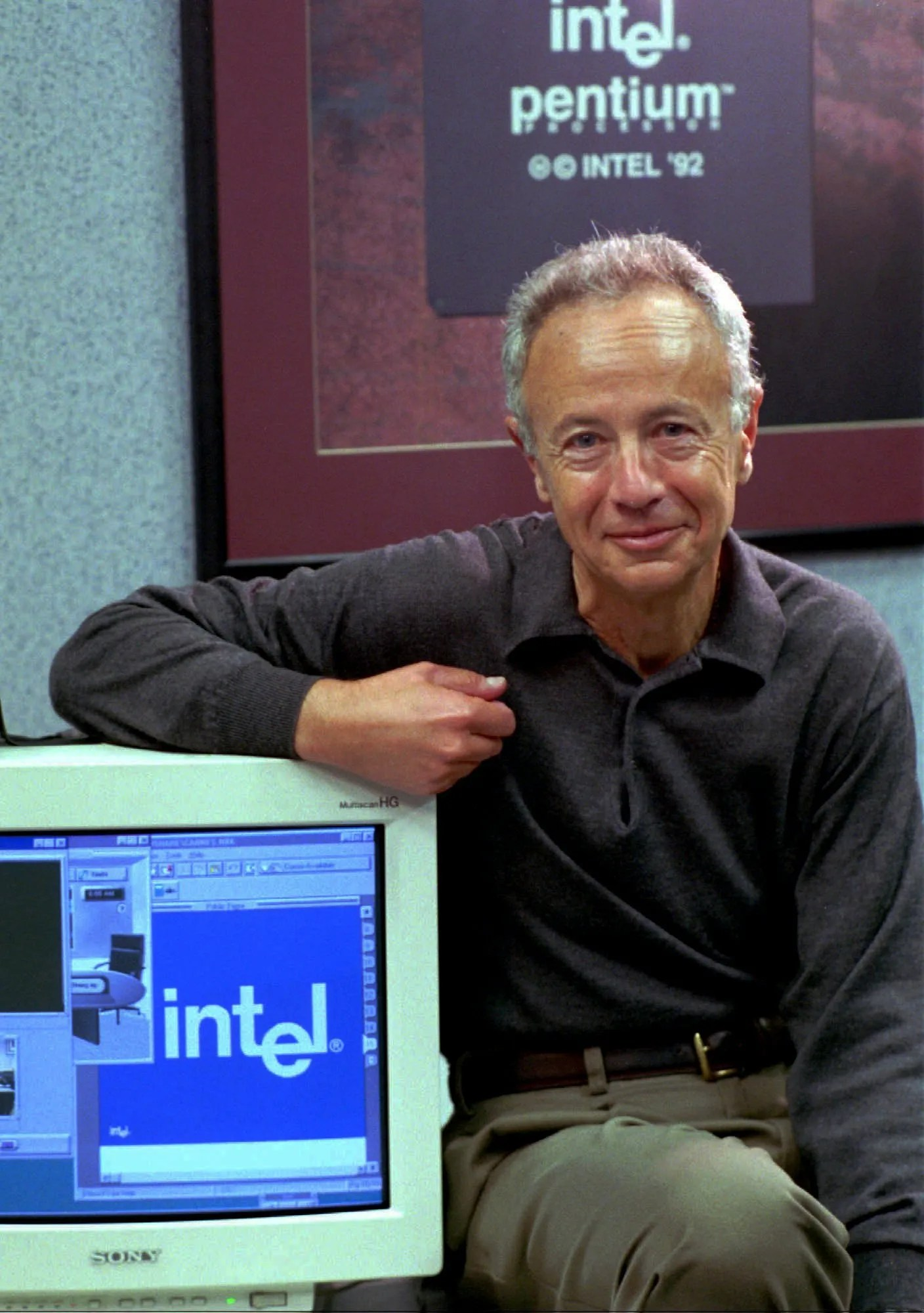 Image result for Intel's Andy Grove
