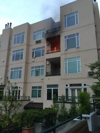 Fire at condo near Pike Place Market contained to balcony ...