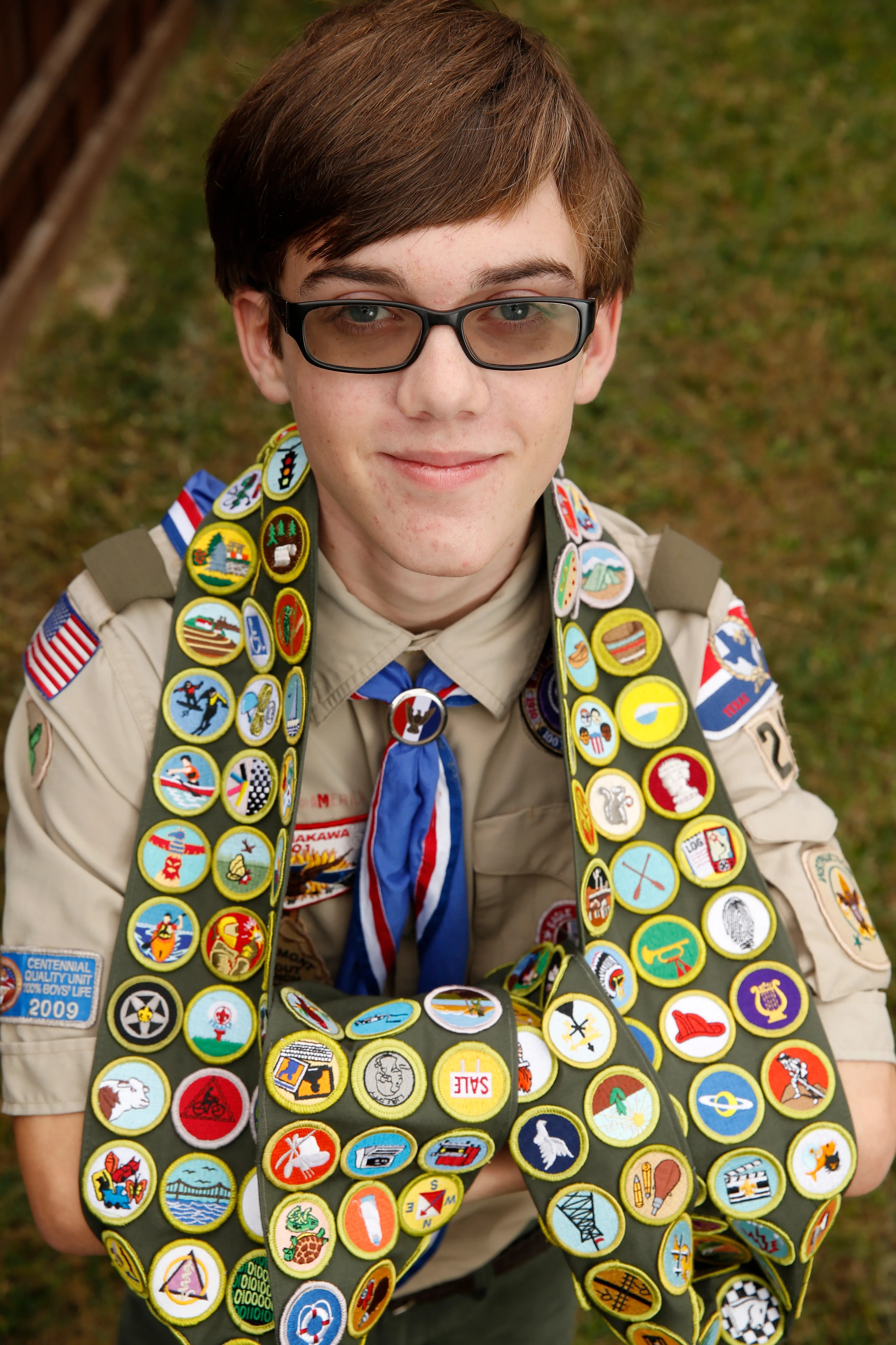 Accomplished Texas Boy Scout Earns All 137 Merit Badges