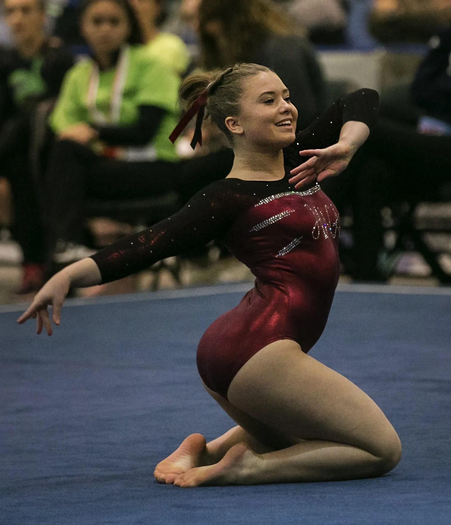 Holy Names finally gets top spot on state gymnastics