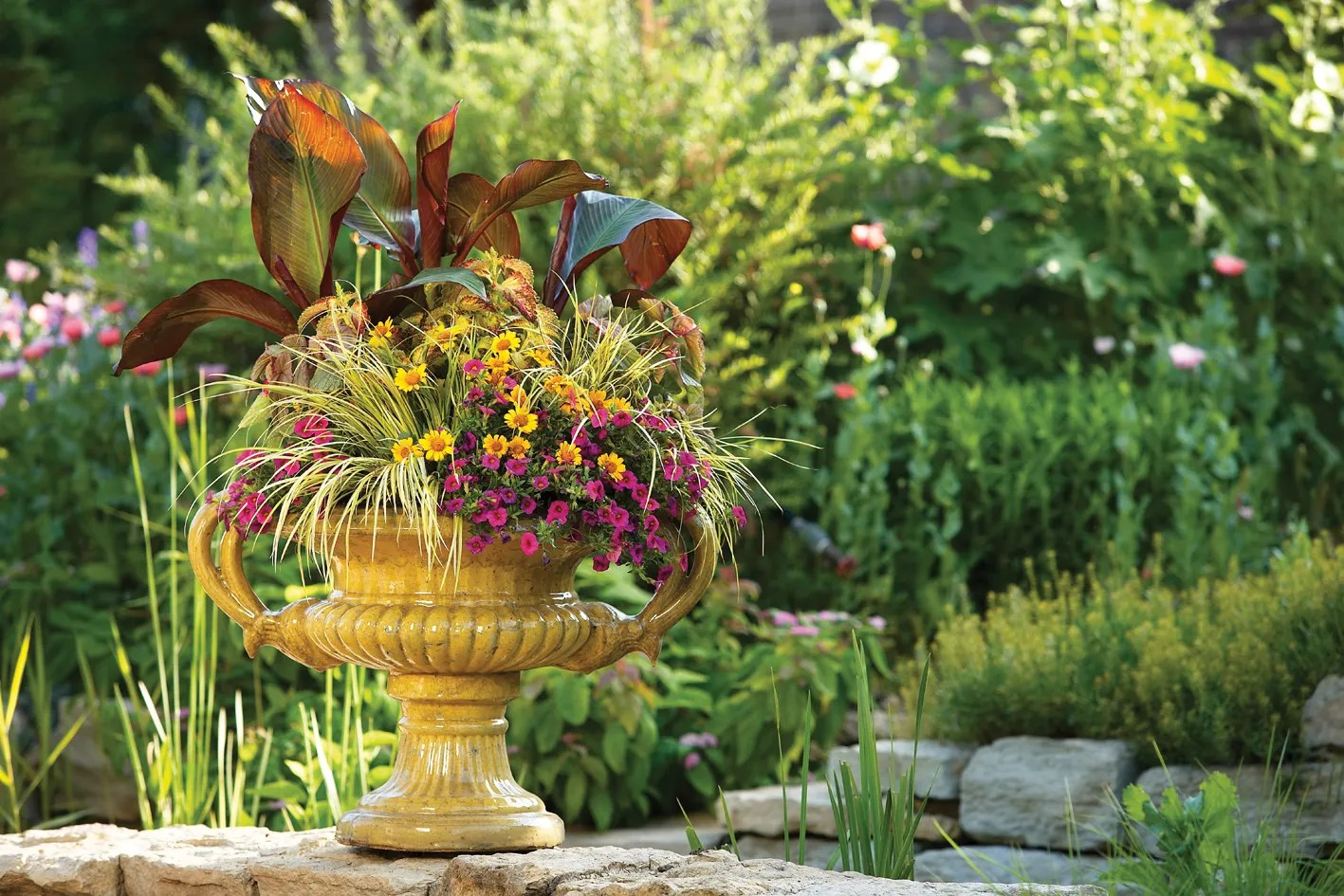 Container Gardens Make A Lovely Gift For Mom
