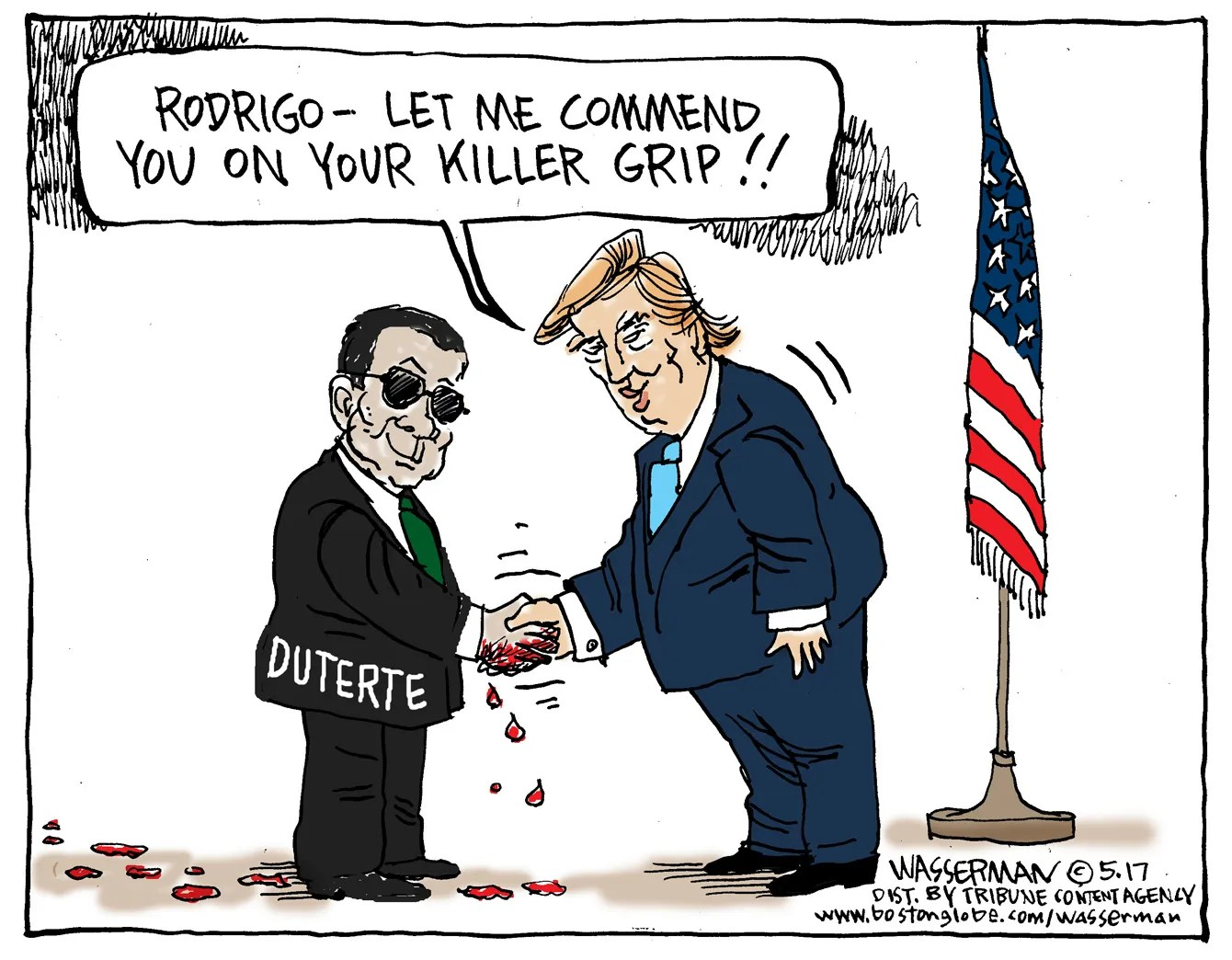 This Week In Cartoons Tricky Trump Loyalty Test You Re