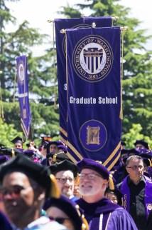 University Of Washington Students Celebrate Graduation Day