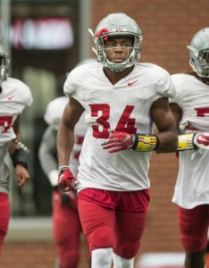 Washington state safety jalen thompson the cougar football team   spring also predicting wsu defensive depth chart after  week of fall camp rh seattletimes