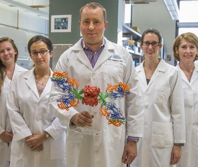 Erik Wambre Center Molecular Biologist And Head Of The Wambre Lab At The Benaroya