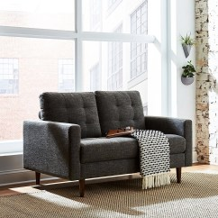 Amazon Com Living Room Furniture Furnish Small Launches Two Lines As Private Label Ambitions Grow Has Launched New Brands Rivet And Stone Beam This Loveseat