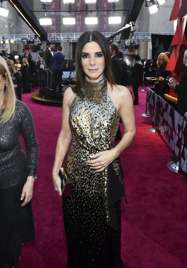 2018 Sandra Bullock Red Carpet