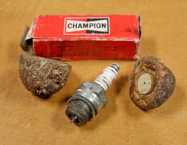 Since amateur rockhounds found it in 1961 west of Death Valley, the artifact was believed to be an electronic device left by alien visitors. In reality, it's a spark plug from a vintage Ford automobile from the 1920s or 1930s. (Greg Gilbert / The Seattle Times)