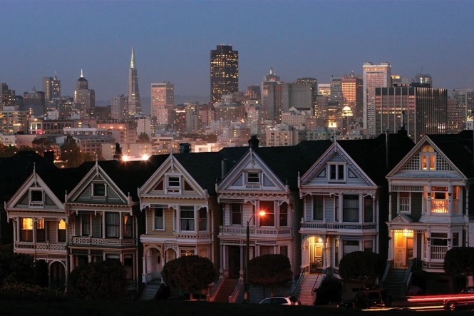 In San Francisco The Iconic Victorian