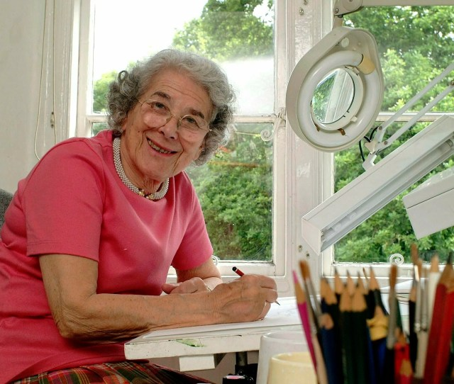 File In This May 23 2003 File Photo British Writer Judith Kerr Sits In