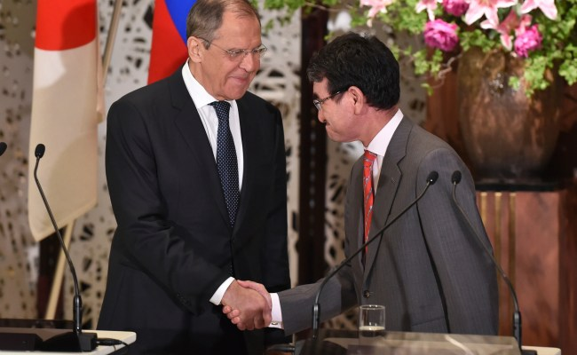 Japan Russia Accuse Each Other Of Military Buildups The