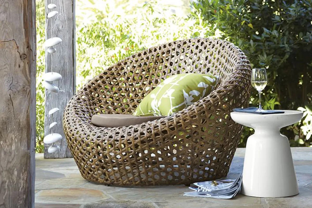 wicker furniture is hotter than ever