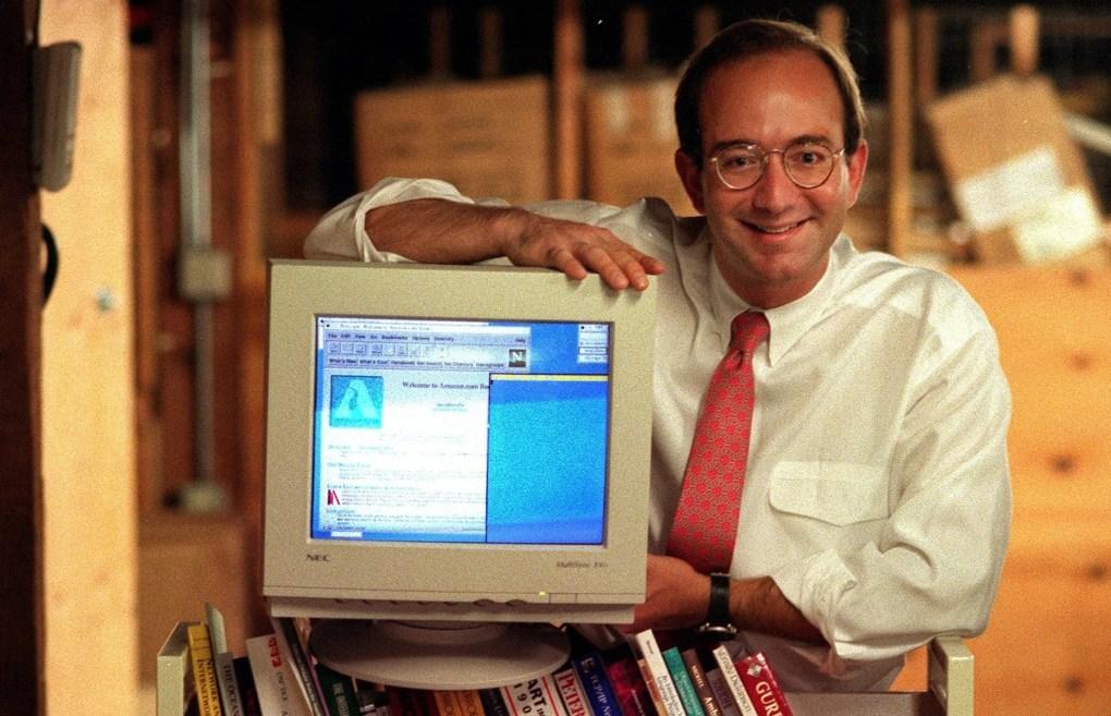 Image result for amazon jeff bezos 1997