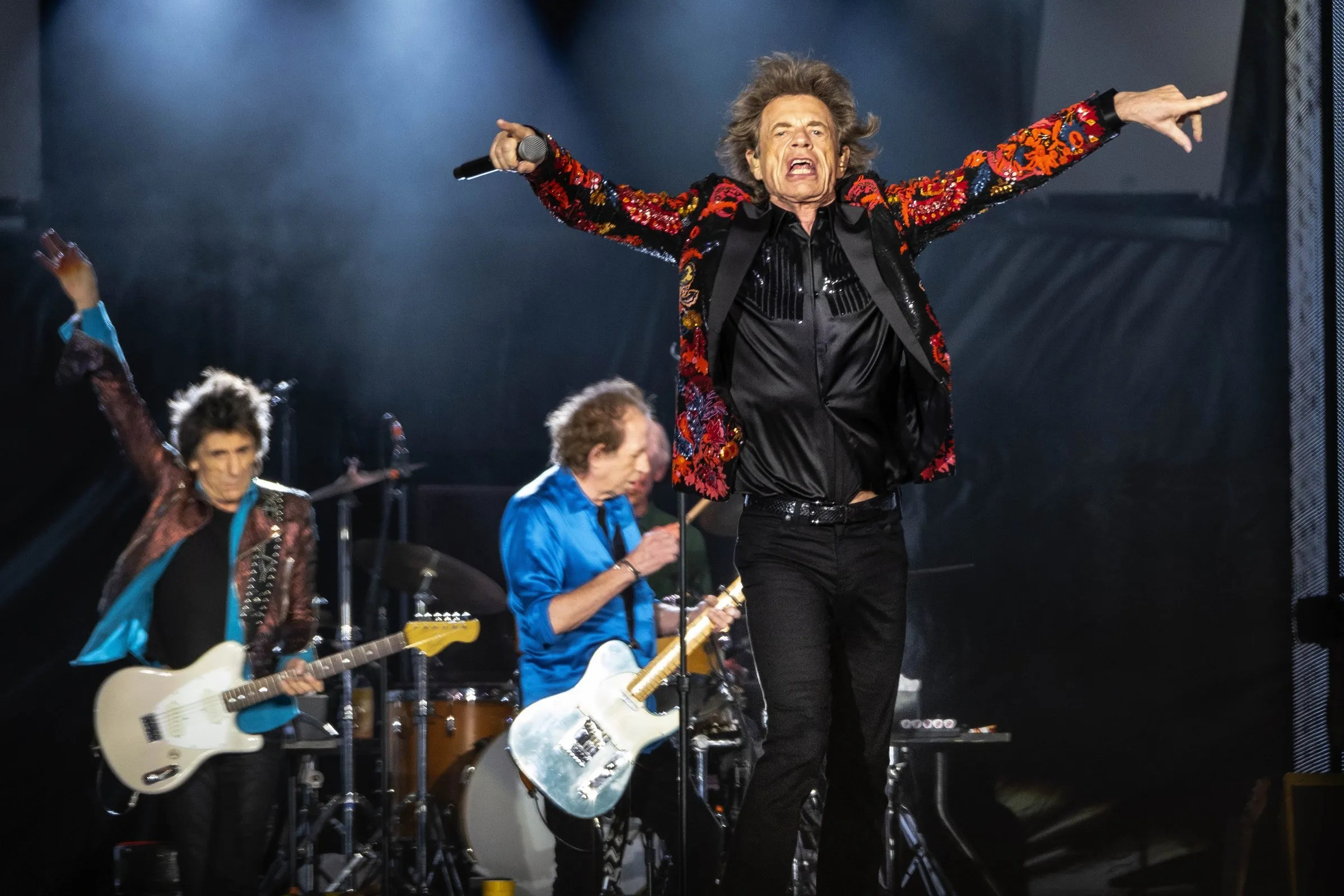 review rolling stones running