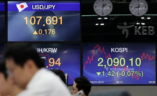 Asian Shares Fall As Iran China Us Trade Tensions Loom