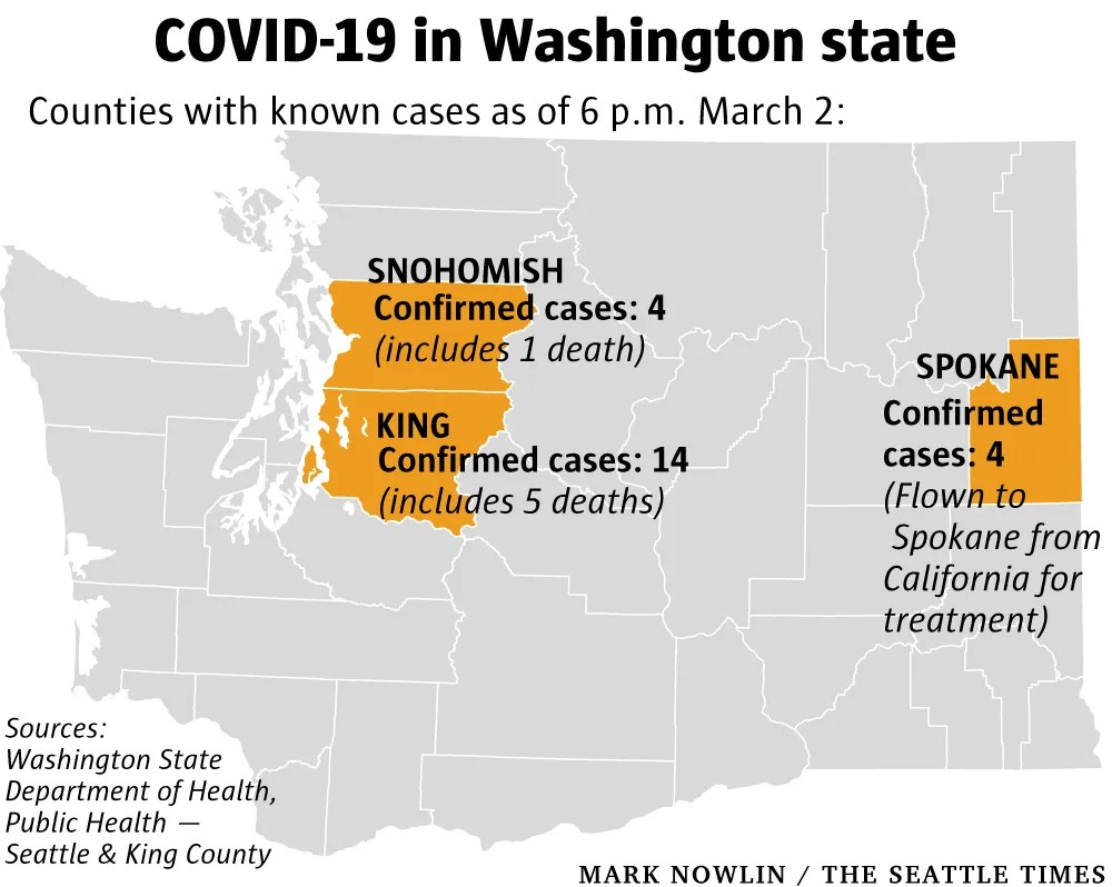 6 people have now died from coronavirus disease in Washington ...