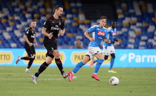 Gattuso S Napoli Draws 2 2 Against Ac Milan The Seattle