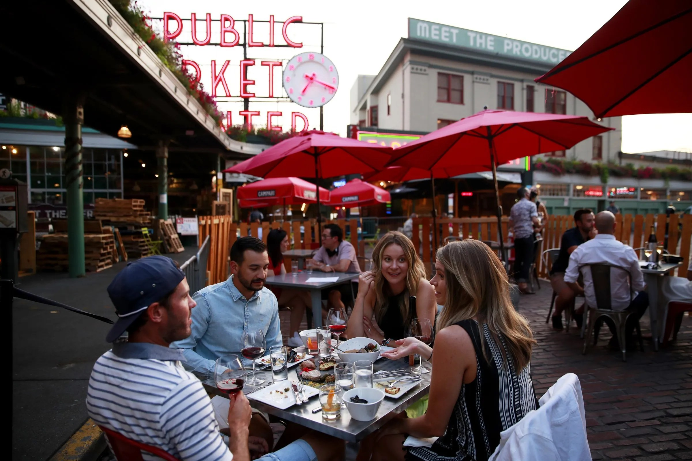 summer is gone but outdoor dining will
