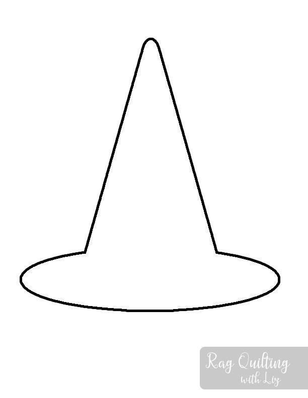 Halloween Witch Hat Door Hanger