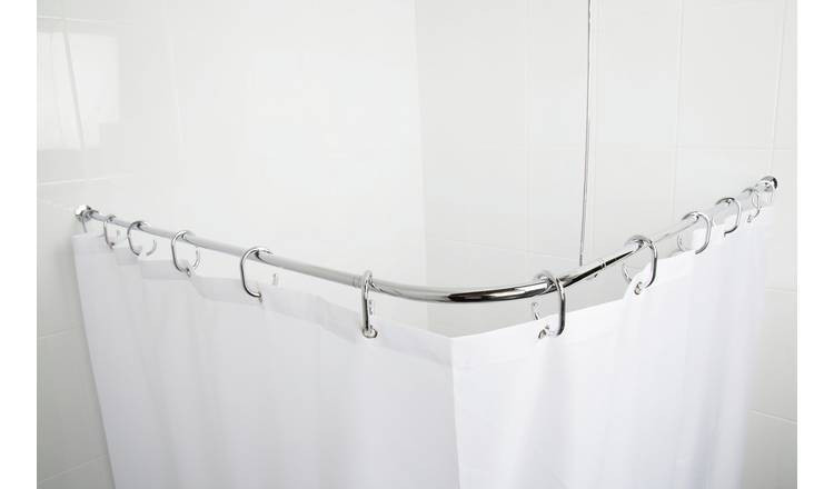 how you will hang shower curtain rods