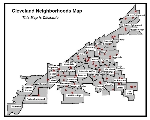 Central Towing|Cleveland Towing Map|Cleveland OH, 216-509-4003