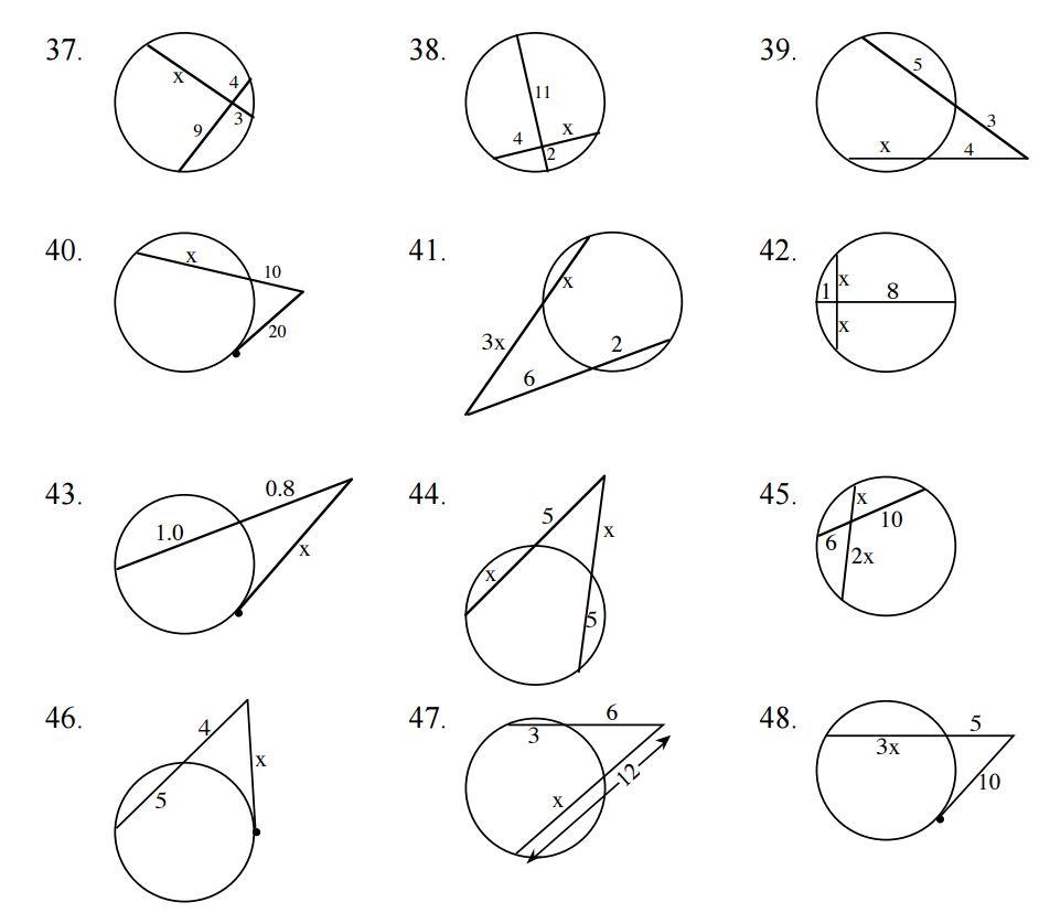Printables. Tangents To Circles Worksheet. Mywcct