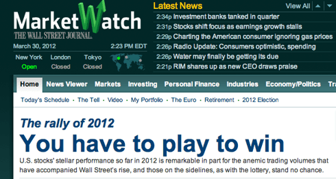 MarketWatch Headline: Can