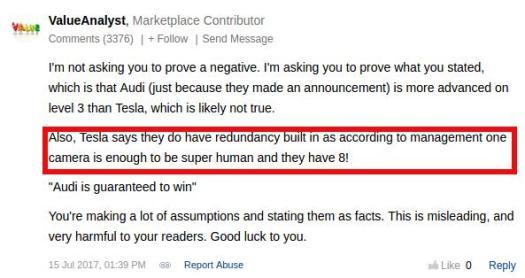 ValueAnalyst Comment