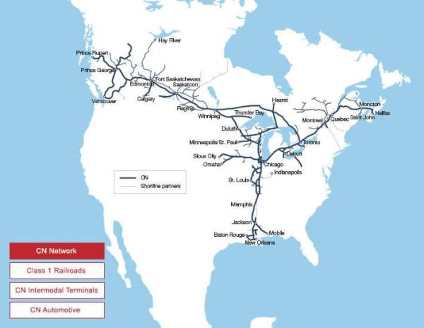 Canadian National Railway A Dominant Dividend Driver