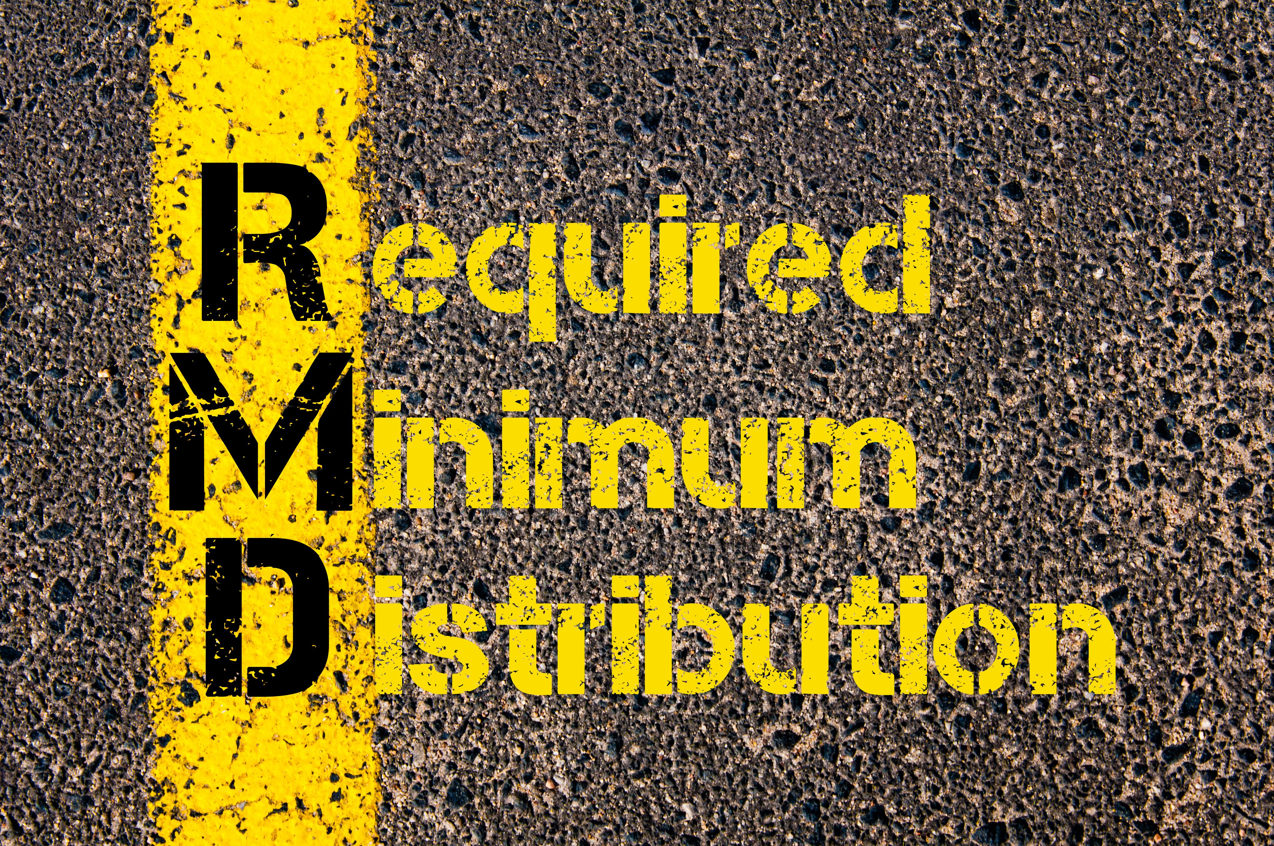 Strategies For Required Minimum Distributions When You Don
