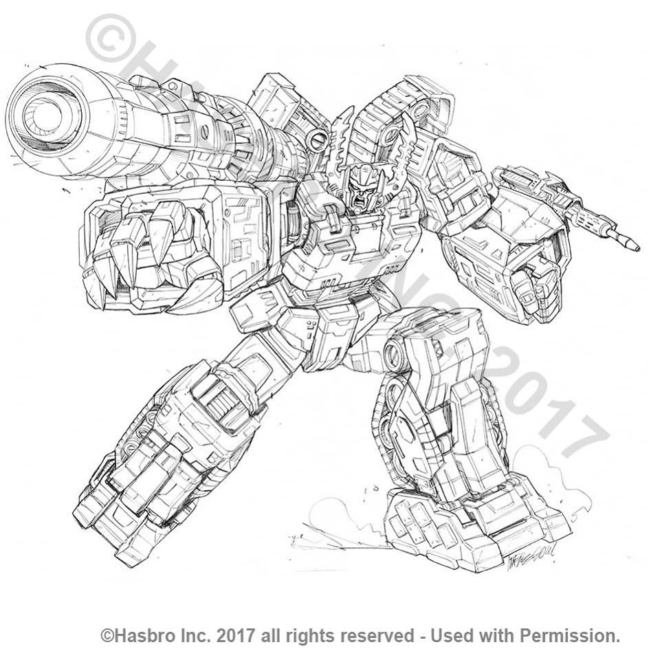 More Packaging Art for Transformers Combiner Wars by