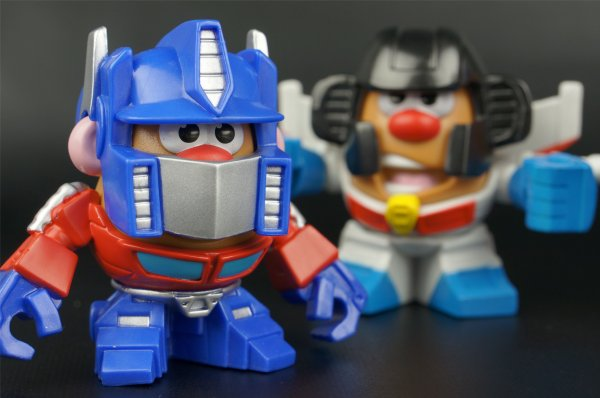 Galleries . Potato Head Optimus Prime Starscream