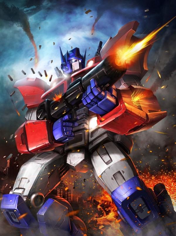 Transformers Legends Optimus Prime