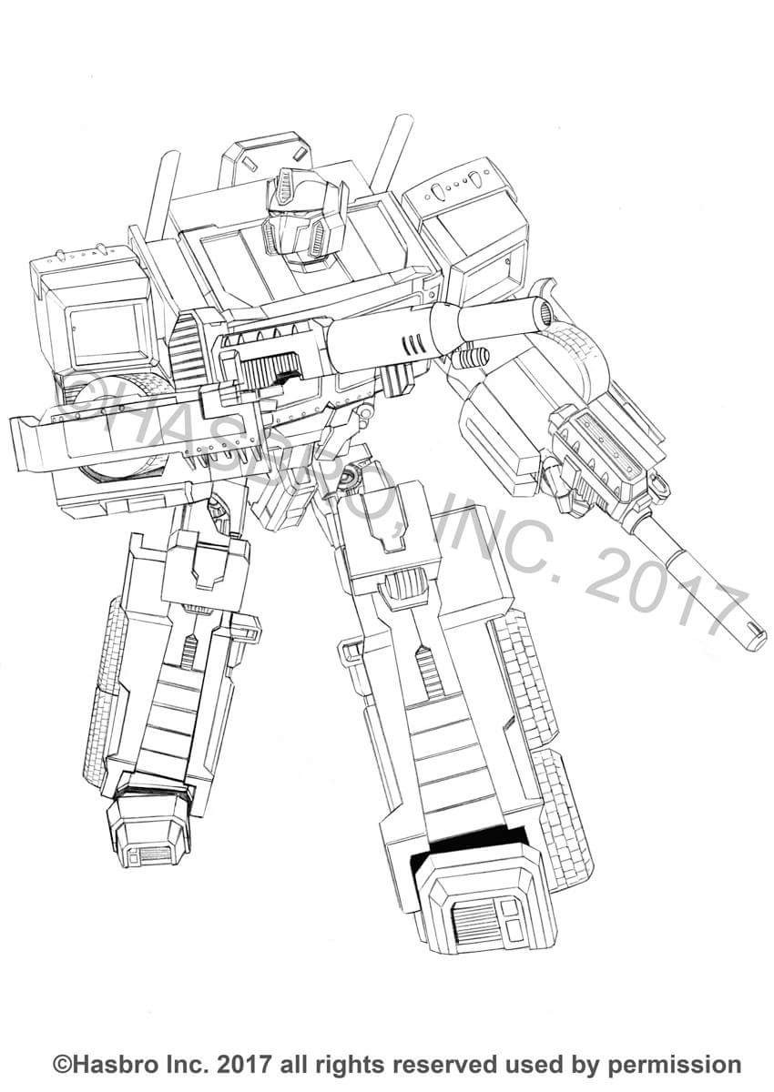 Transformers Generations Combiner Wars Bruticus Art by