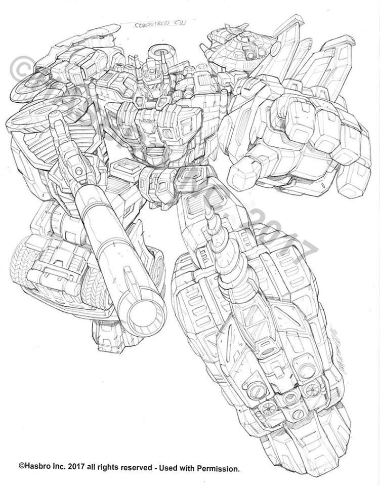 More Transformers Combiner Wars Packaging Art by Ken